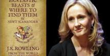 Preparan nueva película de bestias de escritora de Harry Potter