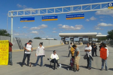 Abren el puente Reynosa-Pharr después de más de 2 horas; video