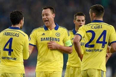 Chelsea se clasifica a octavos en la Champions League