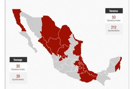 Instituto Federal Electoral, Elecciones 2013.