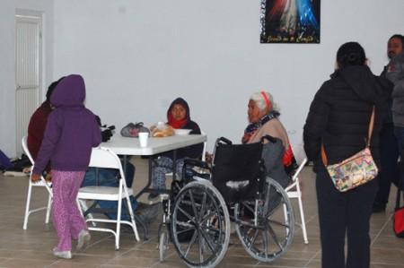 Ya hay 11 refugiados en Casa del Indigente de Reynosa