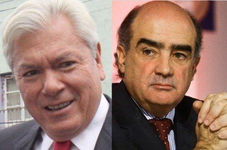 Queman a Carlos Hank Rhon y Luis Téllez como evasores de HSBC