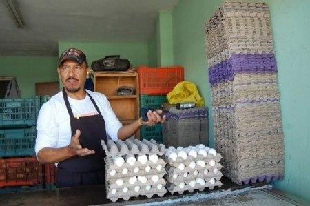 Analizan autoridades iniciar indagación por alza en huevo
