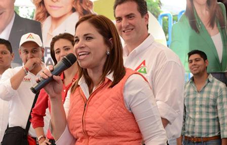 Ivonne Álvarez promete crear Fuerza Civil Rural