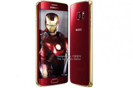 Galaxy S6 y S6 Edge tendrán versión Iron Man