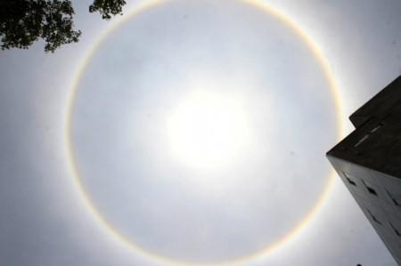 Halos solares avisaban a los mayas de proximidad de lluvias