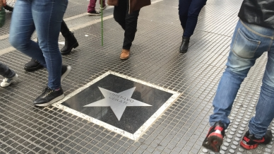 Buenos Aires estrena su Paseo de la Fama con Cerati y Charly García