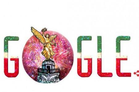 Google dedica 'doodle' a Independencia de México