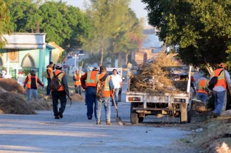 Intensifican acciones en panteones de Reynosa