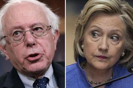 Hillary Clinton y Bernie Sanders, favoritos para debate demócrata