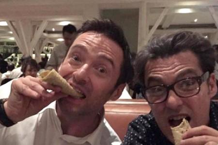 Hugh Jackman disfruta de tacos en México