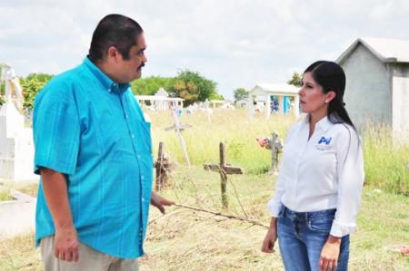 Arranca operativo de limpieza en panteones de Matamoros