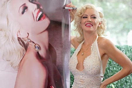Isabel Madow presenta su homenaje a Marilyn Monroe para Playboy
