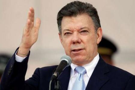 Santos destaca descenso histórico en intensidad de guerra interna