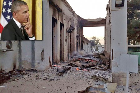 Obama pide perdón por ataque a hospital donde murieron 22 personas