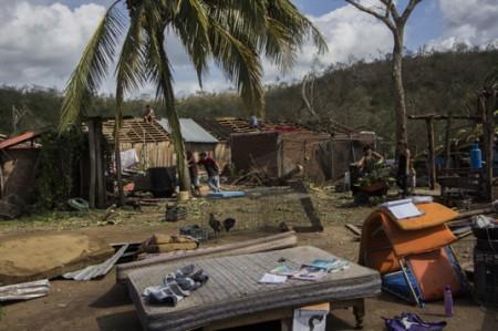 'Patricia' deja casas, carreteras y cosechas dañadas