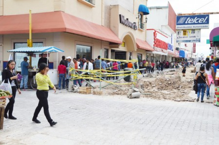 Corto causa terror en la Peatonal Hidalgo
