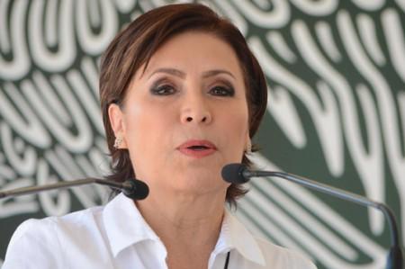 Rosario Robles, a favor del matrimonio gay