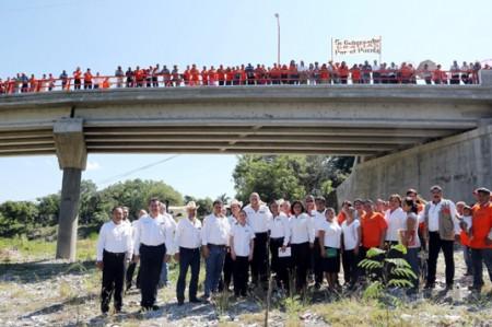 Egidio presume una mejor comunicación entre comunidades de Tamaulipas