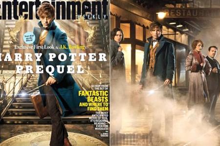 Difunden primeras imágenes de precuela de Harry Potter