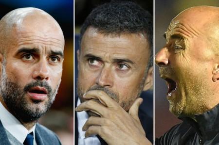 Guardiola, Luis Enrique y Sampaoli, nominados a mejor técnico de 2015
