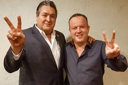Dialogan Canturosas y Gustavo Cárdenas