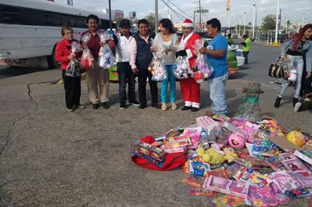Juguetón logra recolectar más de 700 obsequios para infantes del Refugio Internacional del Niño
