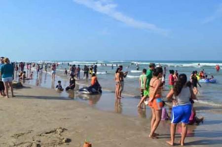 La playa Miramar 'brilla' en el 2015
