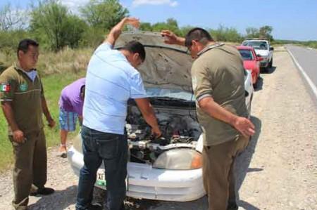 Ángeles Verdes tienen trabajo extra en Tamaulipas