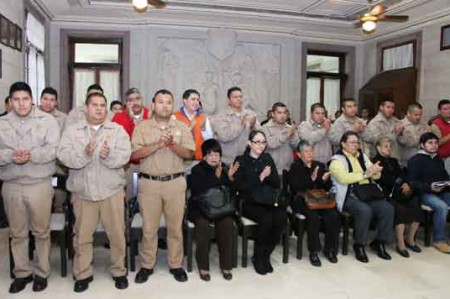 Autoriza Cabildo de Tampico aumento a salario de bomberos