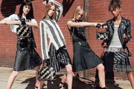 Hijo de Will Smith usa falda en campaña de moda