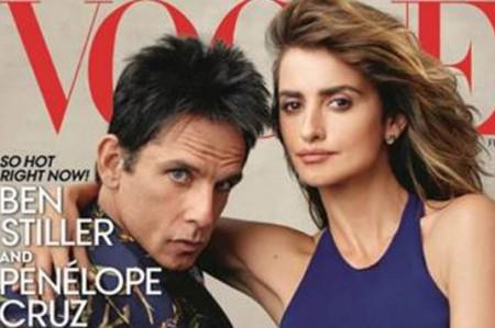 Zoolander y Penélope Cruz toman la portada de 'Vogue'