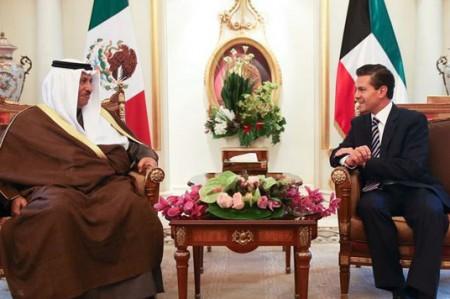 Firman México y Kuwait acuerdos de colaboración