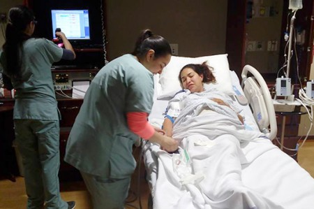 Crónica de un parto