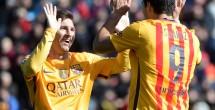 Barcelona vence a Levante 2-0 y se coloca en la cima