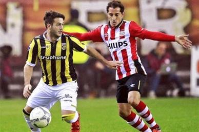 PSV descansa a Guardado para que juegue en Champions