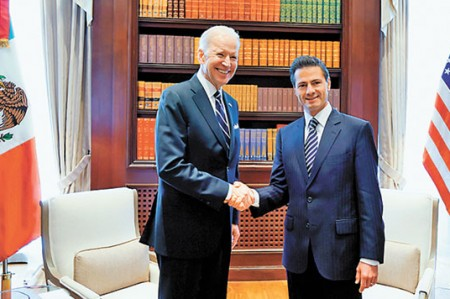 'México y EU son naciones integradas': EPN y Biden
