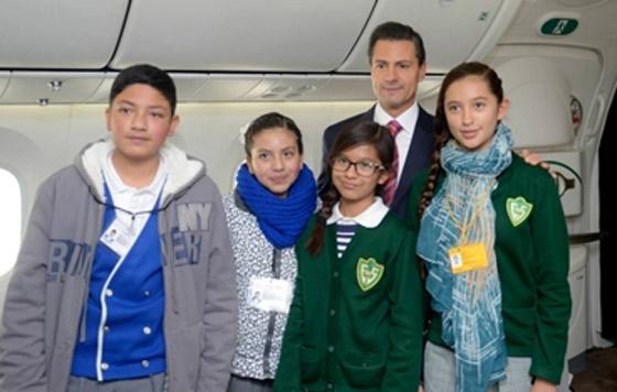 Nuevo avión es del estado mexicano, no del Presidente: EPN