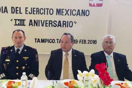 Reconocen en Tampico labor del Ejército Mexicano