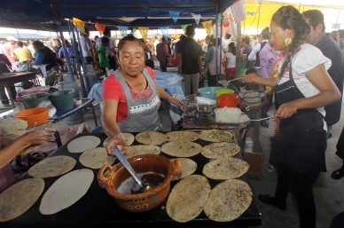 Feria en Puebla repartirá más de 100 mil gorditas
