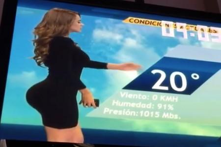 Yanet García, pasó de ser la chica más sexy del clima, a ser la burla de las redes sociales