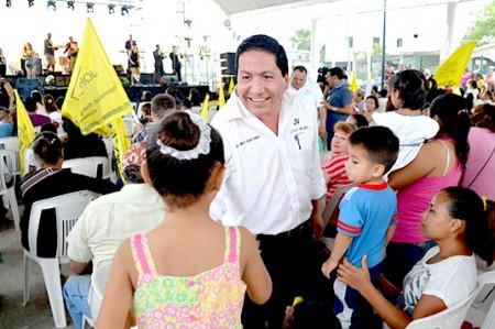 Más seguridad y mejores salarios para Tamaulipas: Jorge Valdés