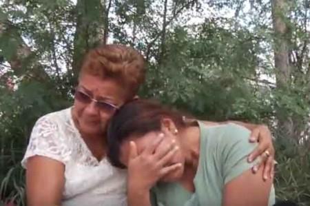 El llanto de una madre por su hijo; no aparece Axel Daniel