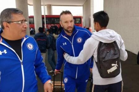 Vuoso viaja con Cruz Azul a Veracruz