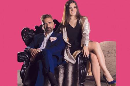 Alejandro Fernández ensaya y presume a su hija Camila