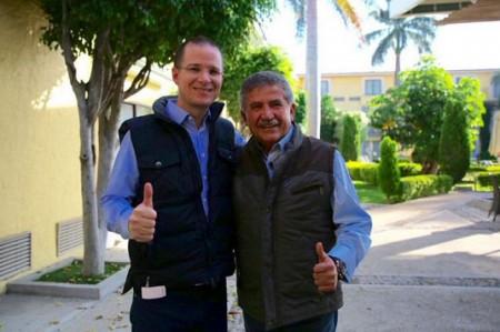 Anaya respalda a Estefan Garfias y niega ruptura del PAN en Oaxaca