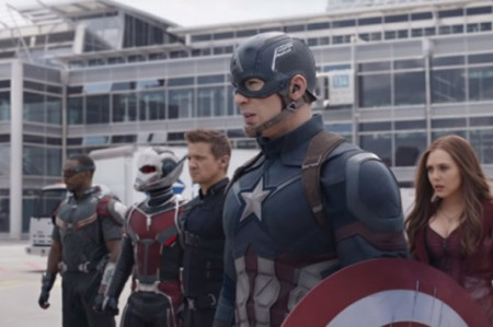 'Capitán América: Civil War' es la cinta con el mejor debut en México