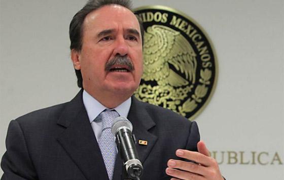 Emilio Gamboa pide aplicar la ley contra líderes de la CNTE