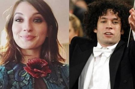 Gustavo Dudamel sale con la actriz María Valverde