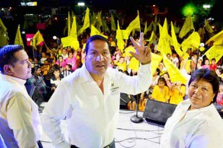 Soto La Marina respalda a Jorge Valdez para la gubernatura